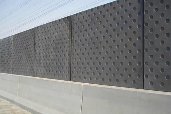 Concrete Acoustic Noise Barriers