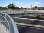 brentwood bridge in place